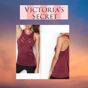NWT Victorias Secret Sport Seamless Perforated Top